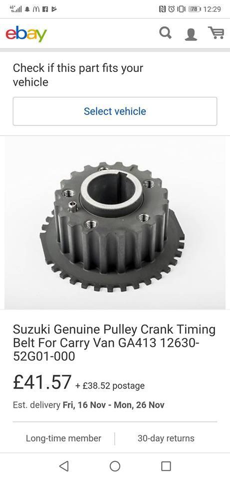 Suzuki g16b crank trigger set up - G4+ - Link Engine Management