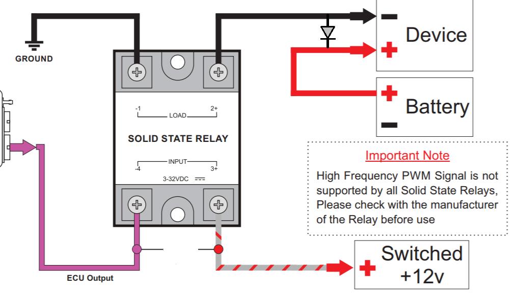 wiring soild state relays g4 link engine management Solid State Relay DC Output solid state relay primer phidgets support