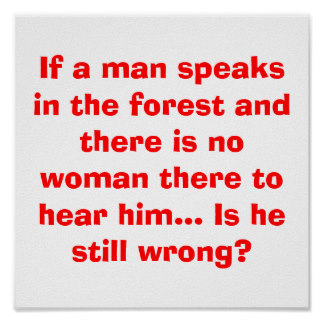 man_speaks_in_forest_poster_funny_joke_f
