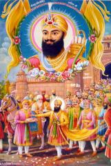 Guru_Hargobind_is_released_from_Gwalior_Fort_by_Jahangir's_order.jpg