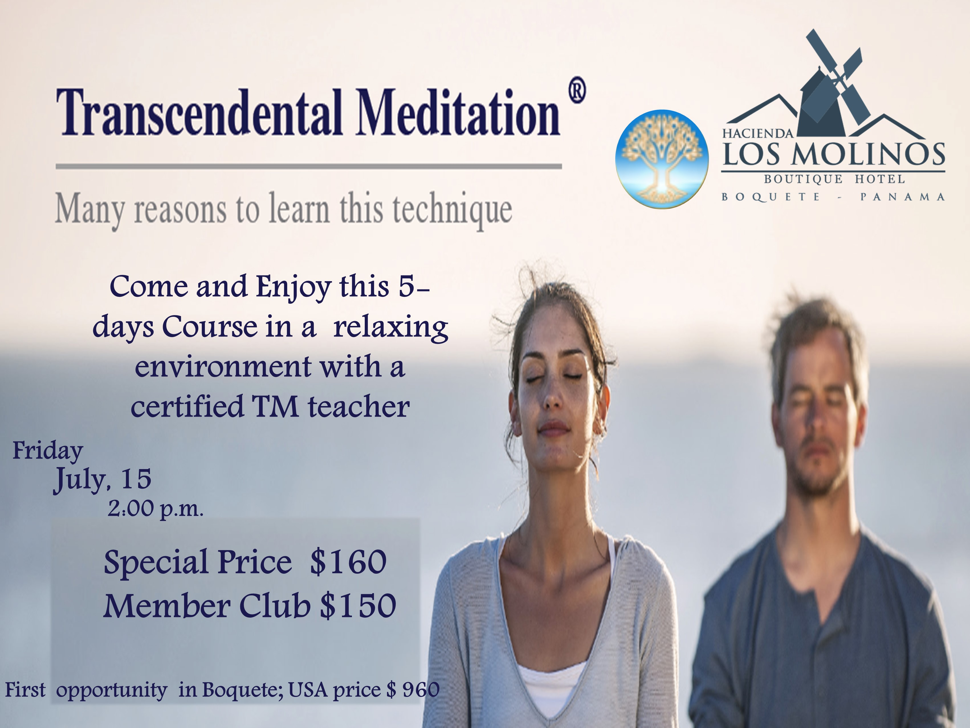 Transcendental Meditation Community Events Calendar Chiriqui