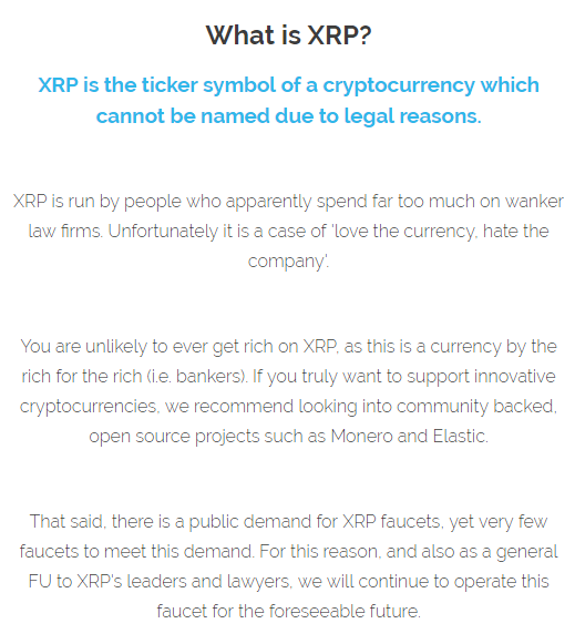 I am losing my faith in Ripple because of what I\'ve just seen online ...