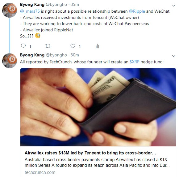 Ripple and WeChat - General Discussion - Xrp Chat