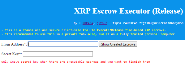 How do I use the new escrow feature?