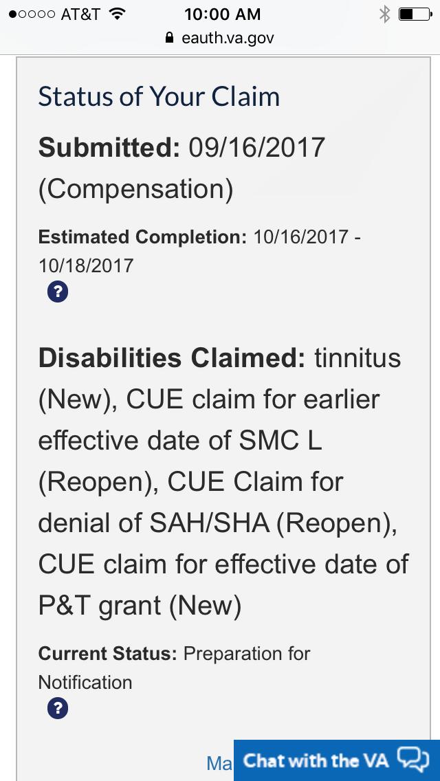 mbl22885's Content - VA Disability Compensation Benefits Forums