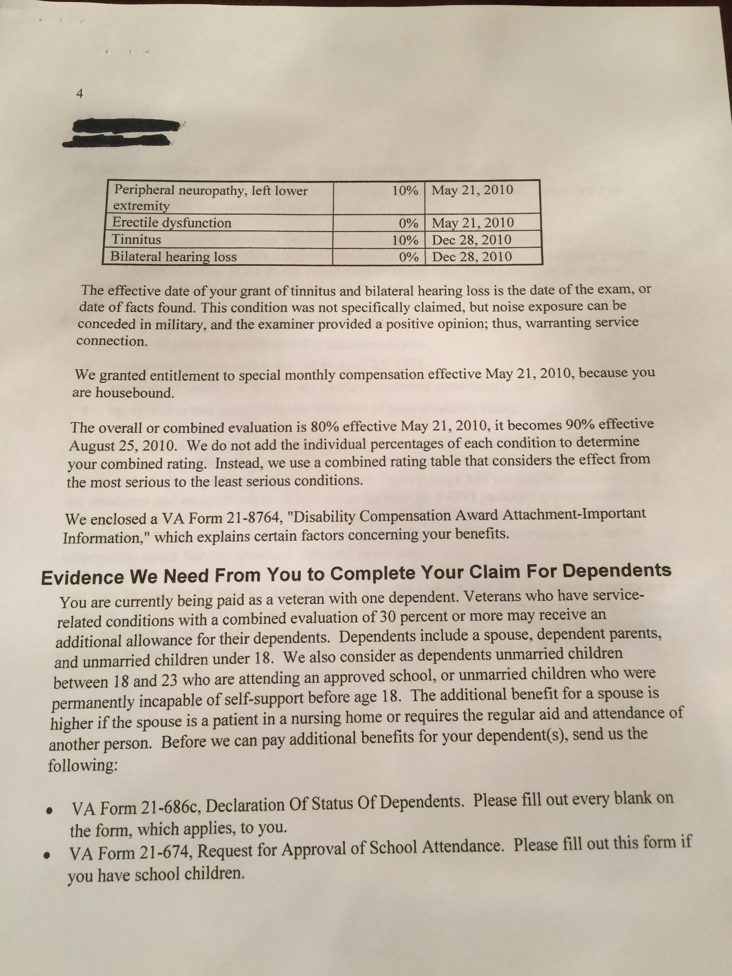 SMC S awarded never paid - VA Disability Compensation