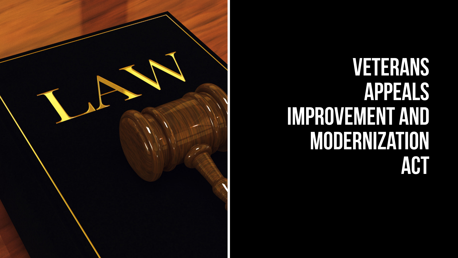 Veterans Appeals Improvement and Modernization Act