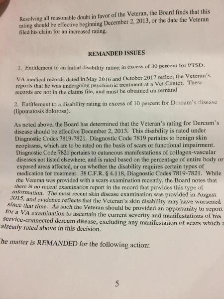 Appealing Your Veterans Compensation Disability Claims NOD