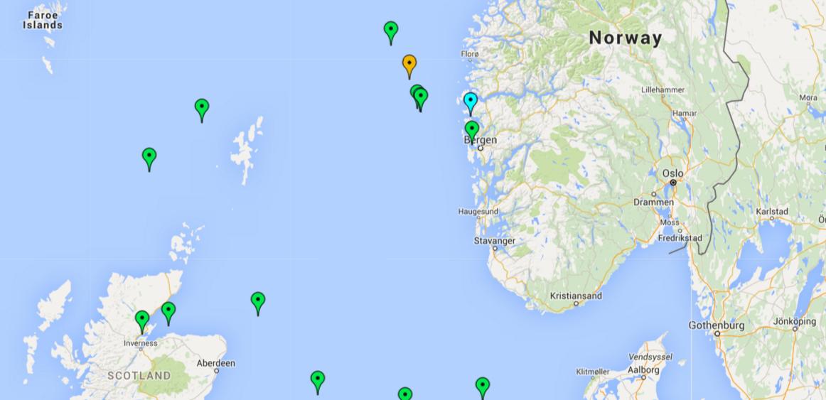 Dynamic geo location of object in google maps widget Feature