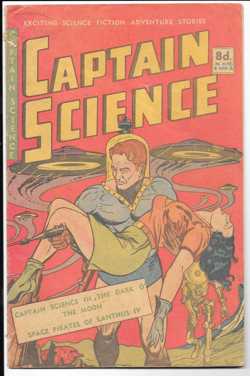 Captain Science 1 Australian