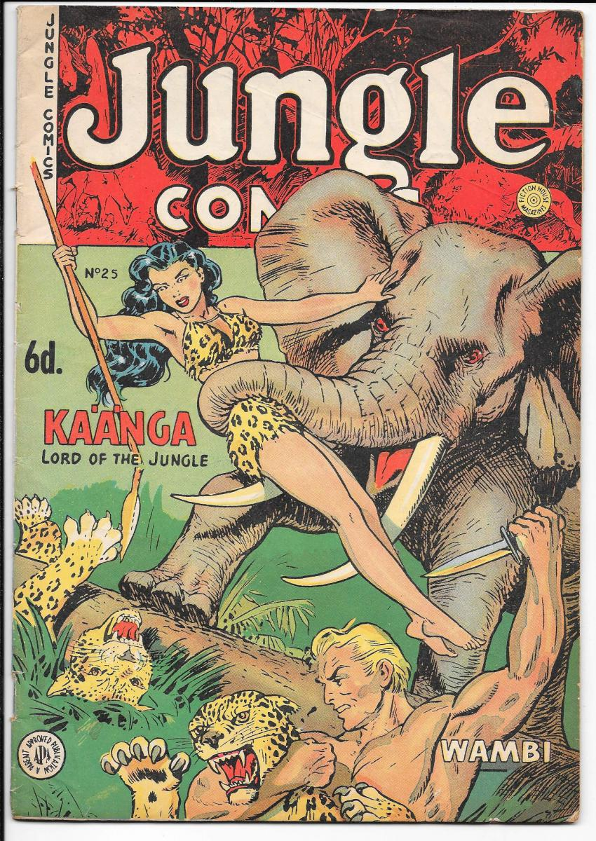 Jungle Comics 25 Australian