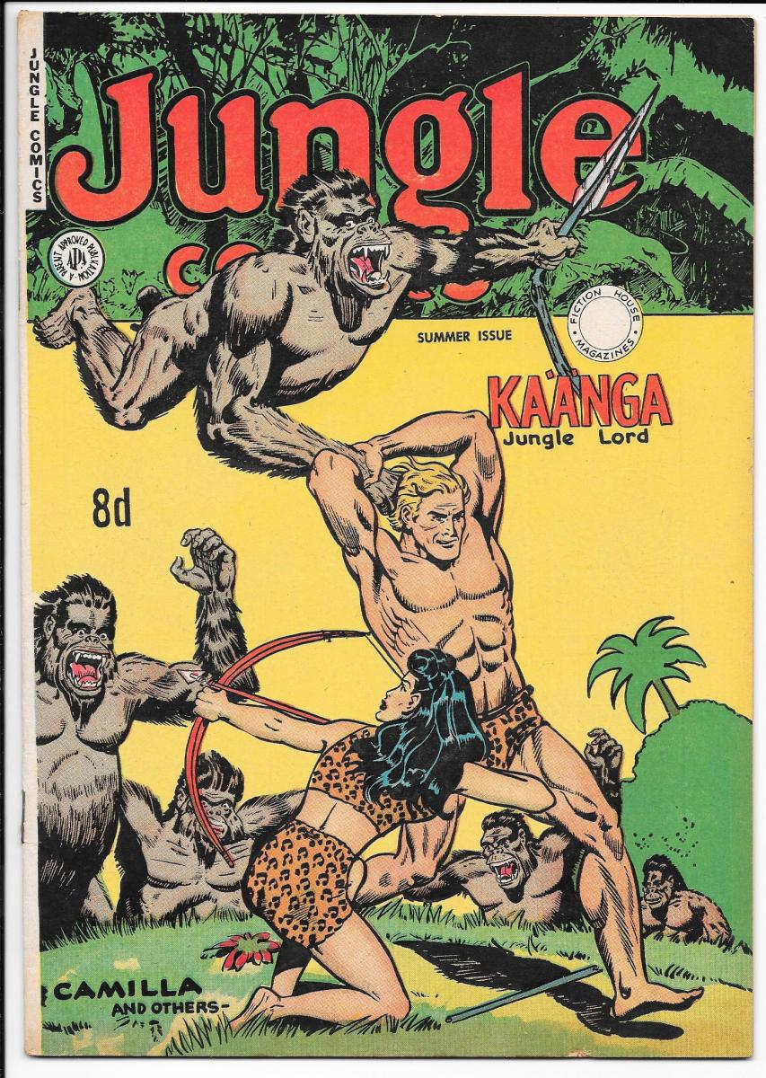 Jungle Comics summer edition nn Australian