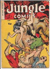 Jungle Comics 29 Australian