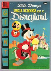 Uncle Scrooge Goes to Disneyland (Dell Giant)