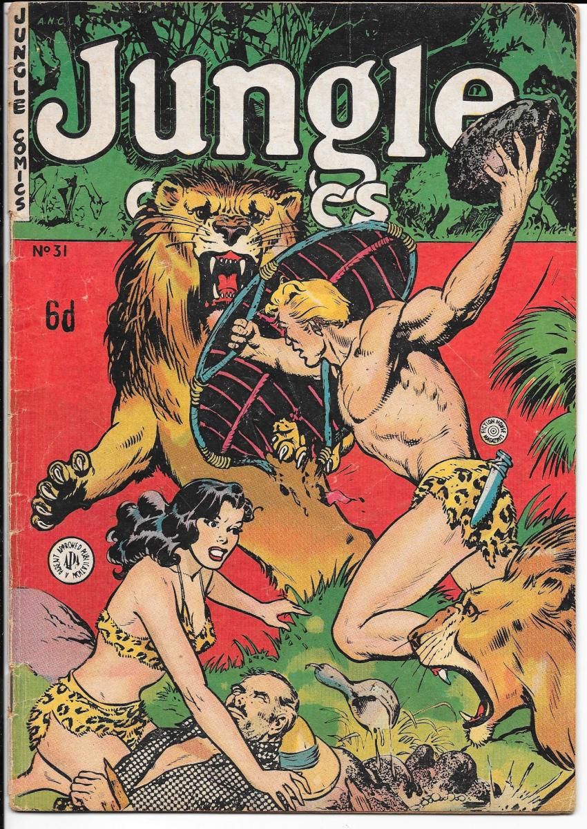 Jungle Comics 31 Australian
