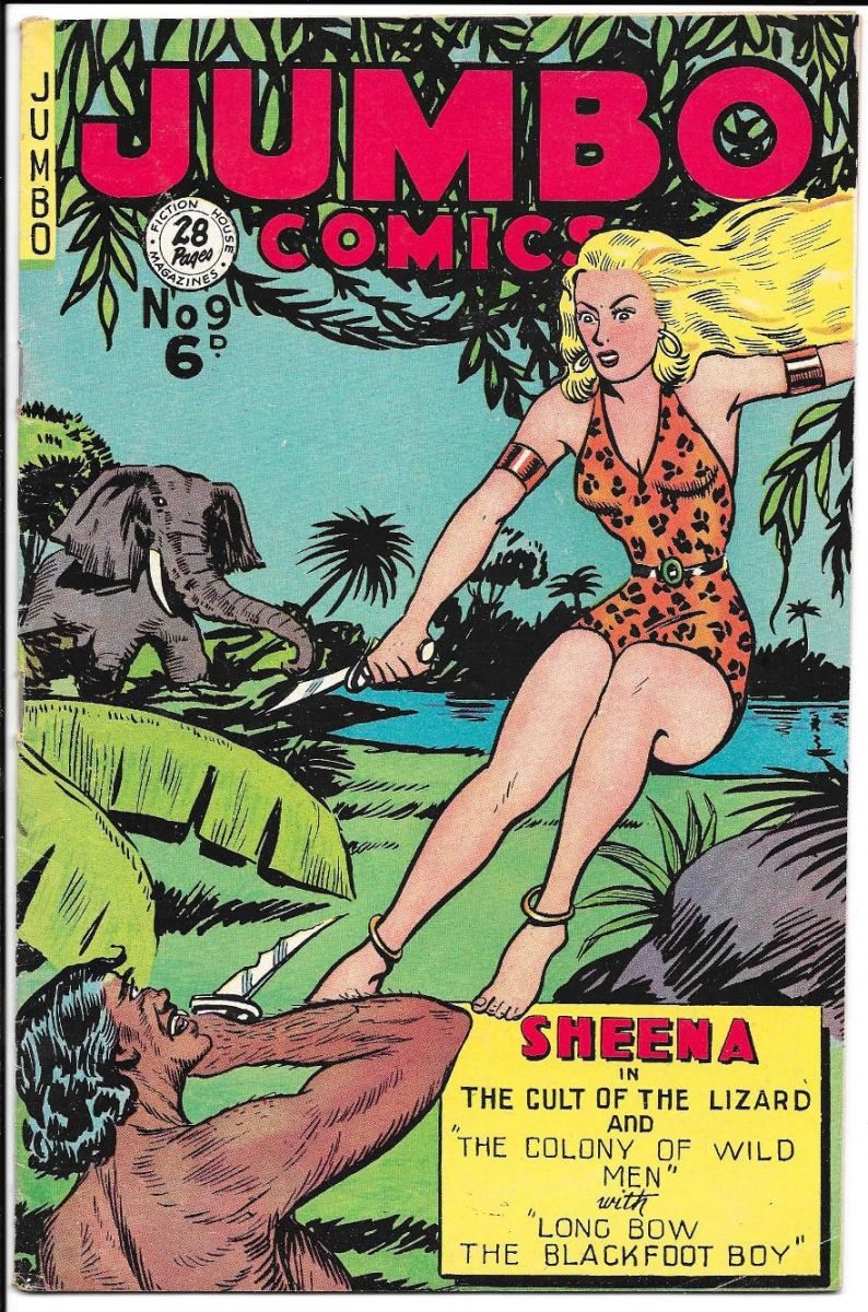 Jungle Comics 09 Australian