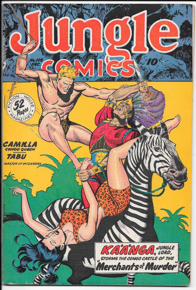 Jungle Comics 108