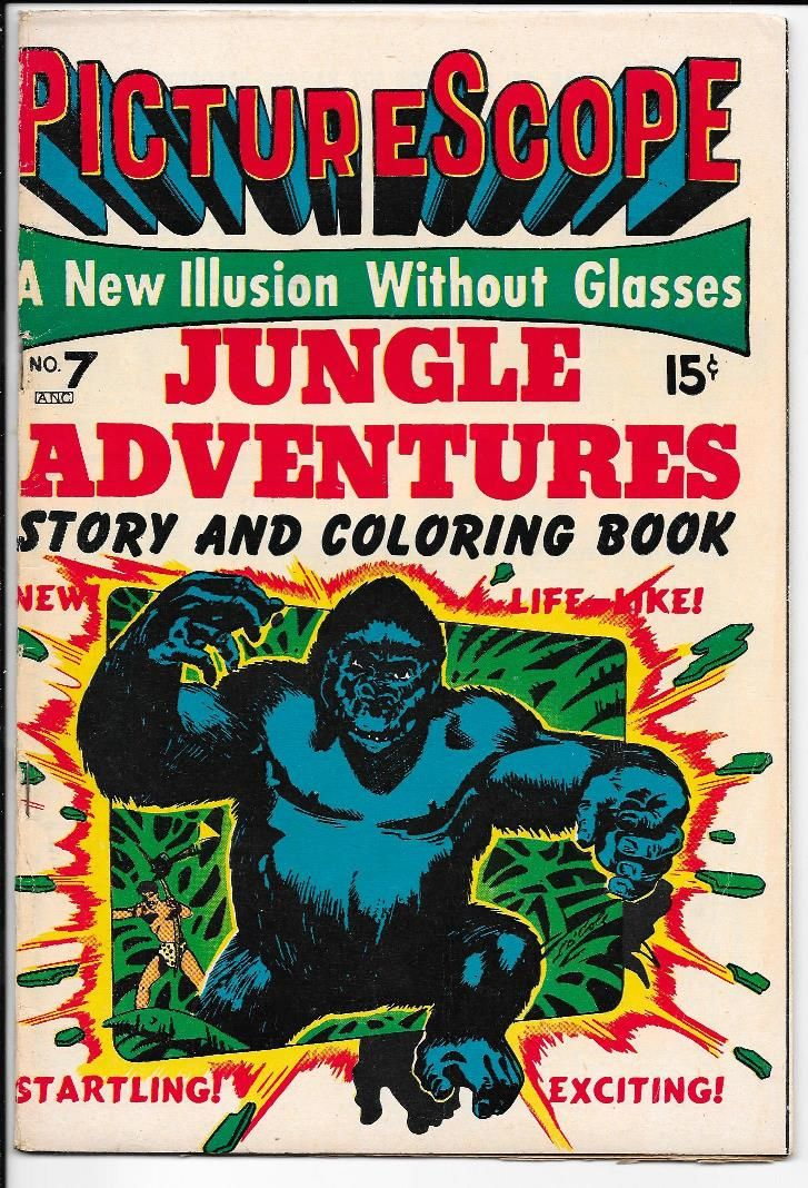 Jungle Adventures 7 (L.B. Cole cover)