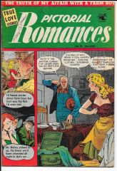 Pictorial Romances 16 (Baker cover and art throughout)