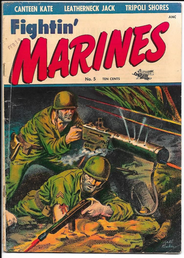 Fightin Marines 5 (Baker cover)