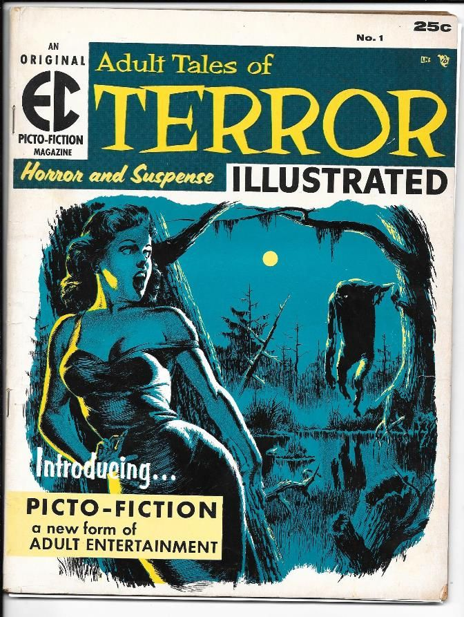 Terror Illustrated 1