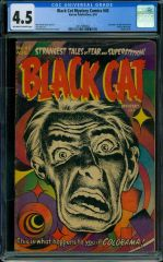 Black Cat Mystery comics #45