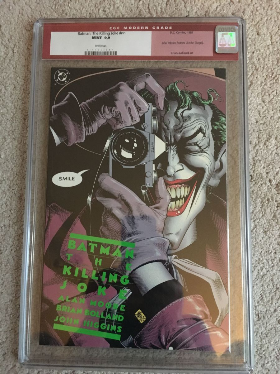 Batman The Killing Joke 1st Print CGC 9.9