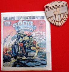 2000AD Judge Dredd Block Mainia and The Apocalypse Wars