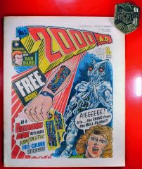 2000AD Judge Dredd 1st Appearance Prog Issue 2 1977