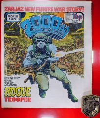 2000AD Brian Bolland Judge Dredd 1st Dark Judges and 1st Rogue Trooper