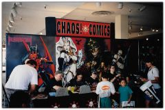 Chaos Comics! Booth / Arizona 1996