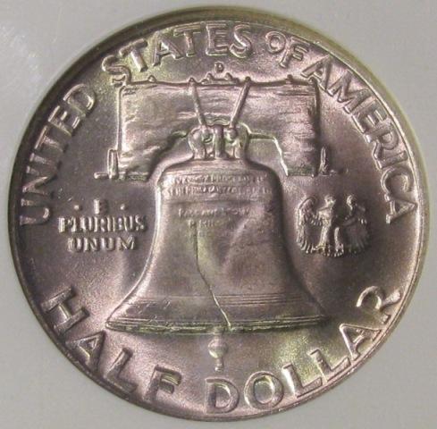 WYNTK Full Bell Lines on Franklin Half Dollar--FBL - What