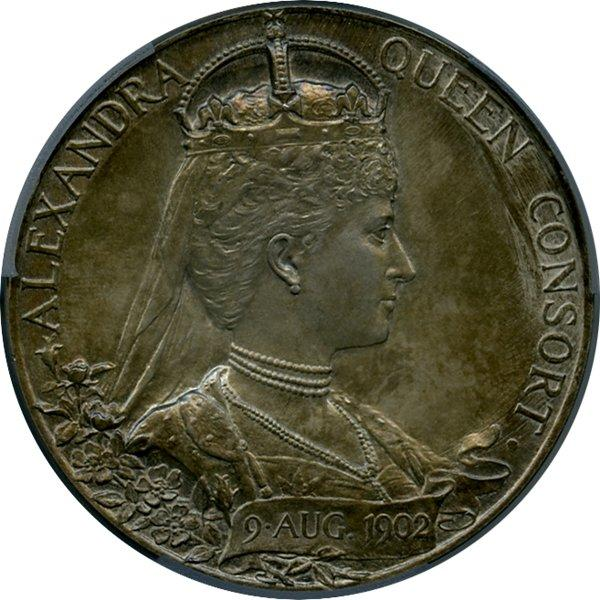 1902 Edward VII Coronation Medal in Silver, reverse.jpeg