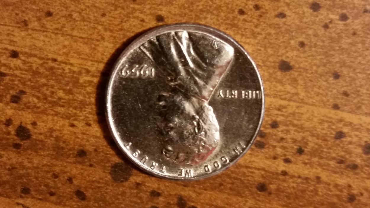 1959 Silver Penny 1