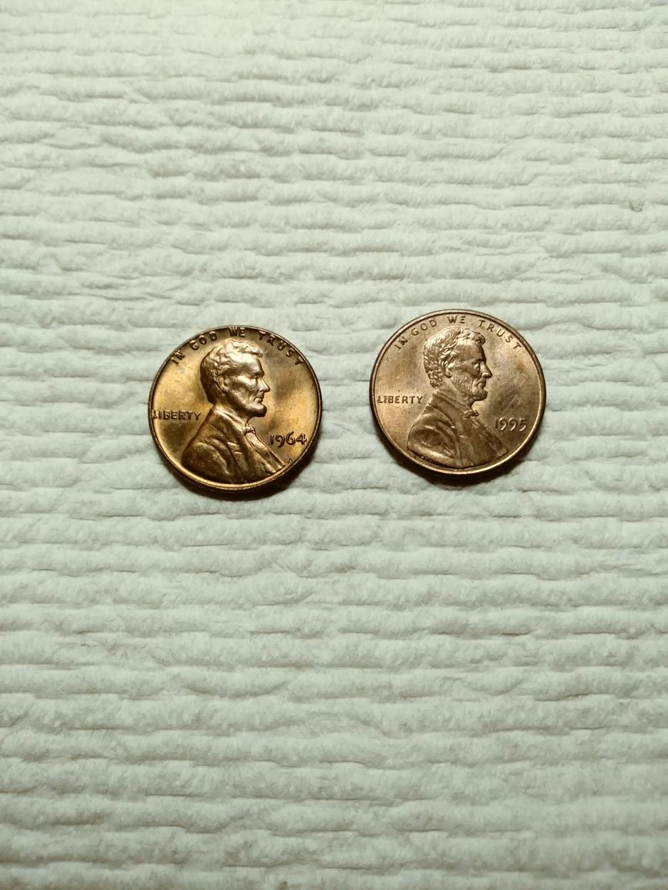 1964 sms penny? Newbie in need of some advise - Newbie Coin