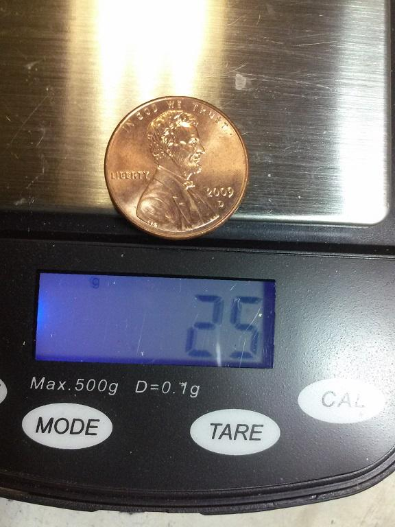 1983 Penny weighing 3 1g Found, now nothhing? - US, World
