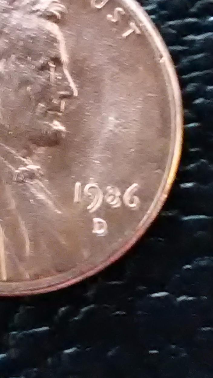 1986-D DDO LINCOLN MEMORIAL PENNY - US, World, and Ancient