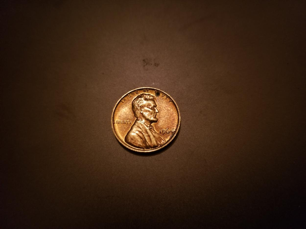 1964 SMS penny or proof penny? - Newbie Coin Collecting