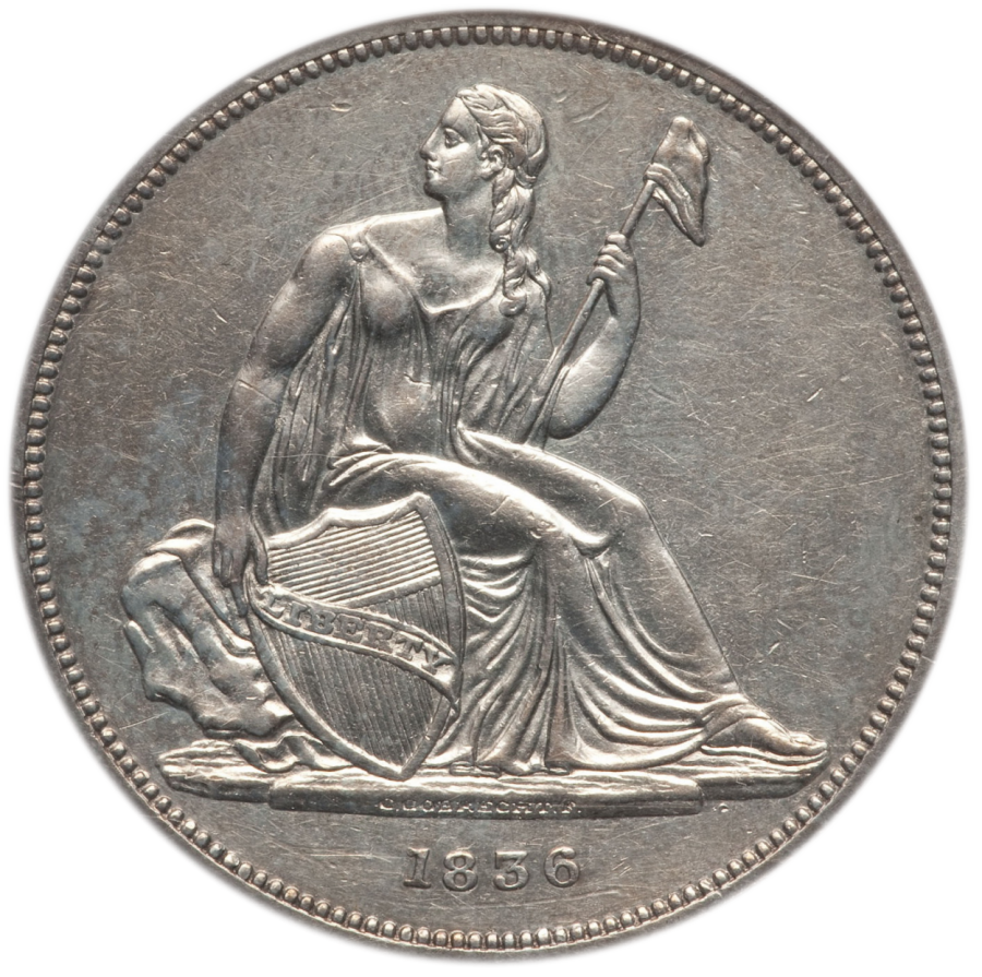 1836 S$1 Gobrecht NGC PR-58 OR.png