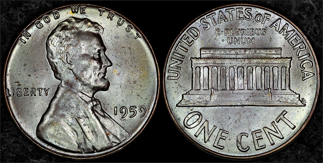 1959 silver Penny - US, World, and Ancient Coins - NGC Coin