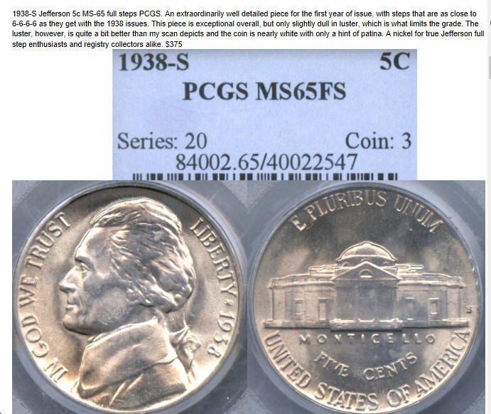 The 1951-D Jefferson nickel - NGC Coin Collectors Chat Boards