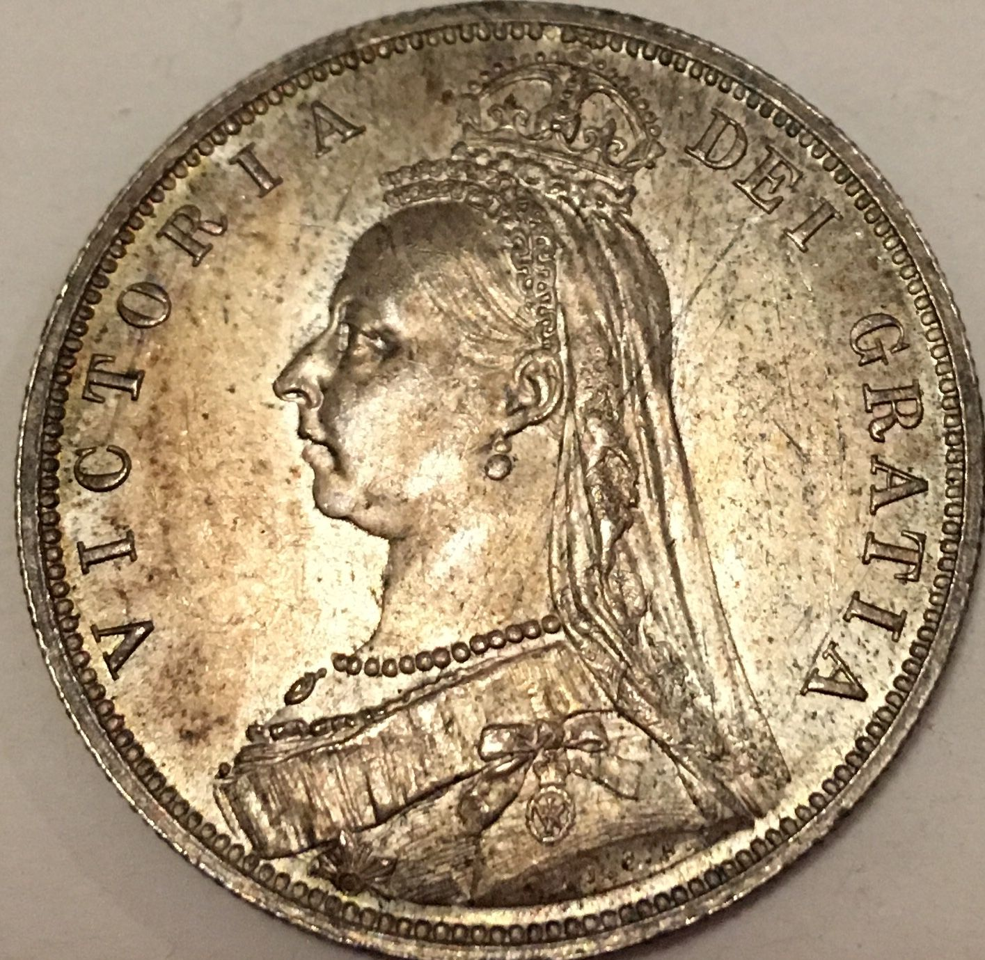 1887 half crown proof ? #3 - Newbie Coin Collecting Questions - NGC