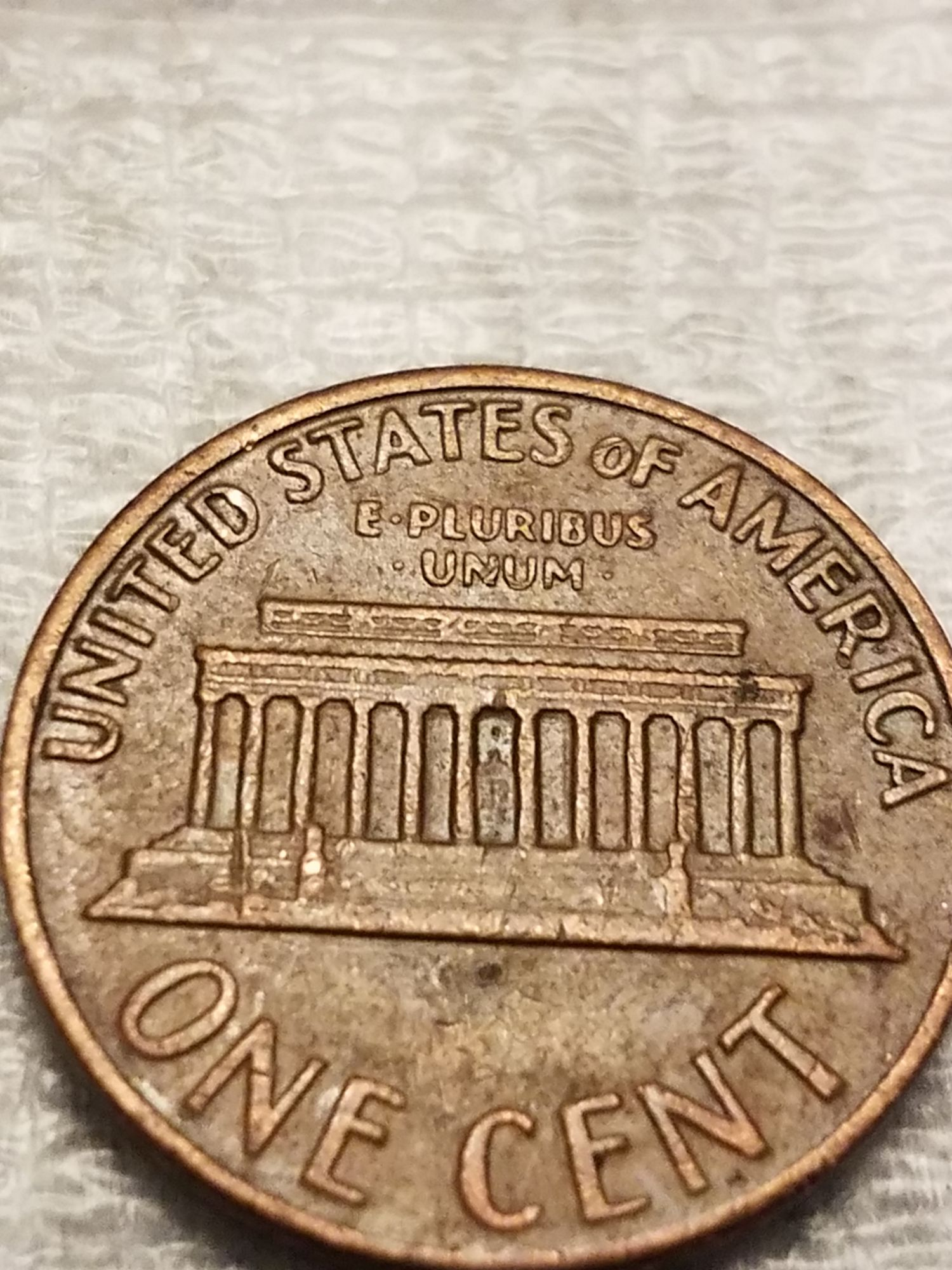 1969 d penny floating roof - Newbie Coin Collecting