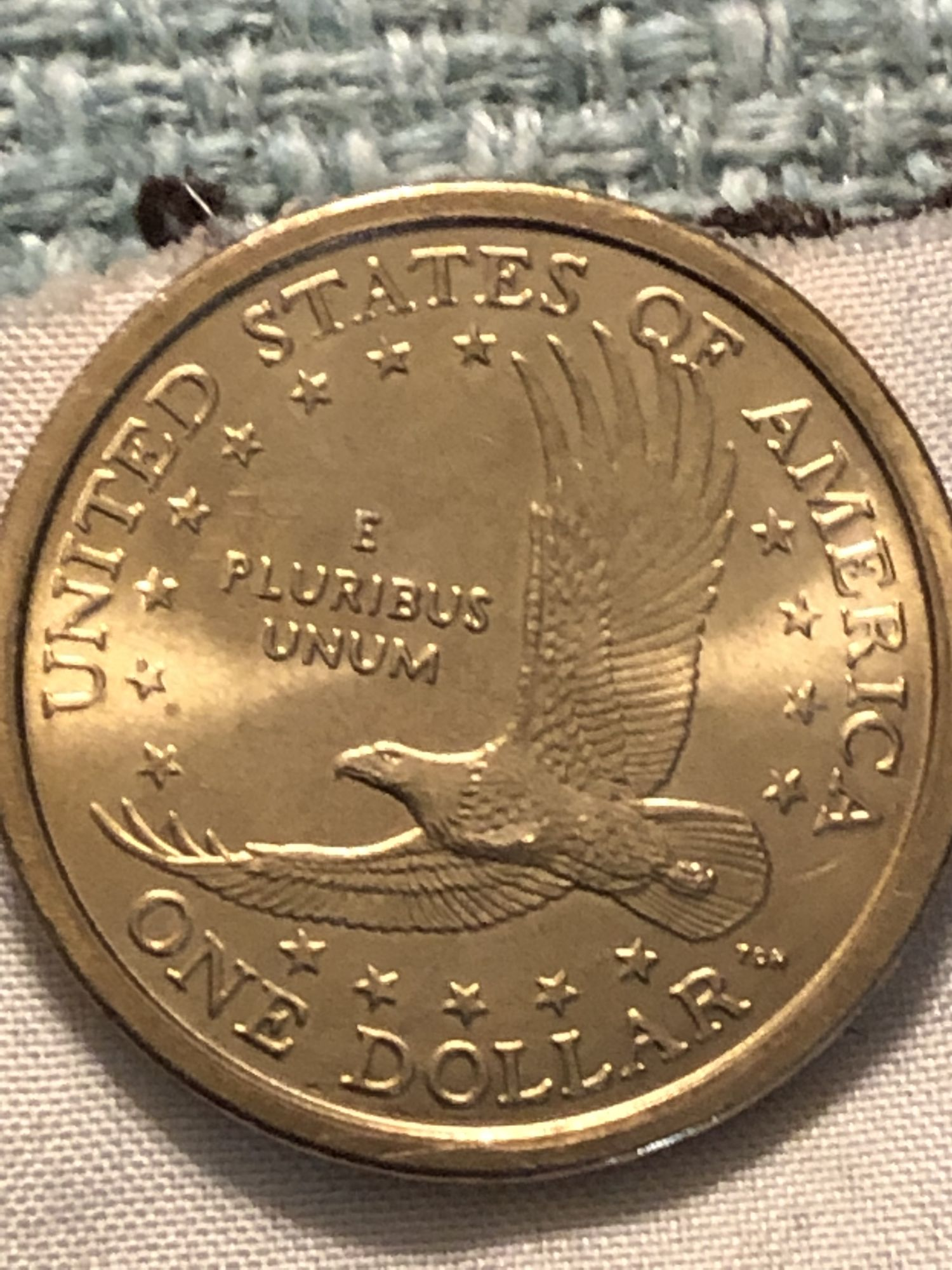 2000 p Sacagawea wounded eagle? - Newbie Coin Collecting