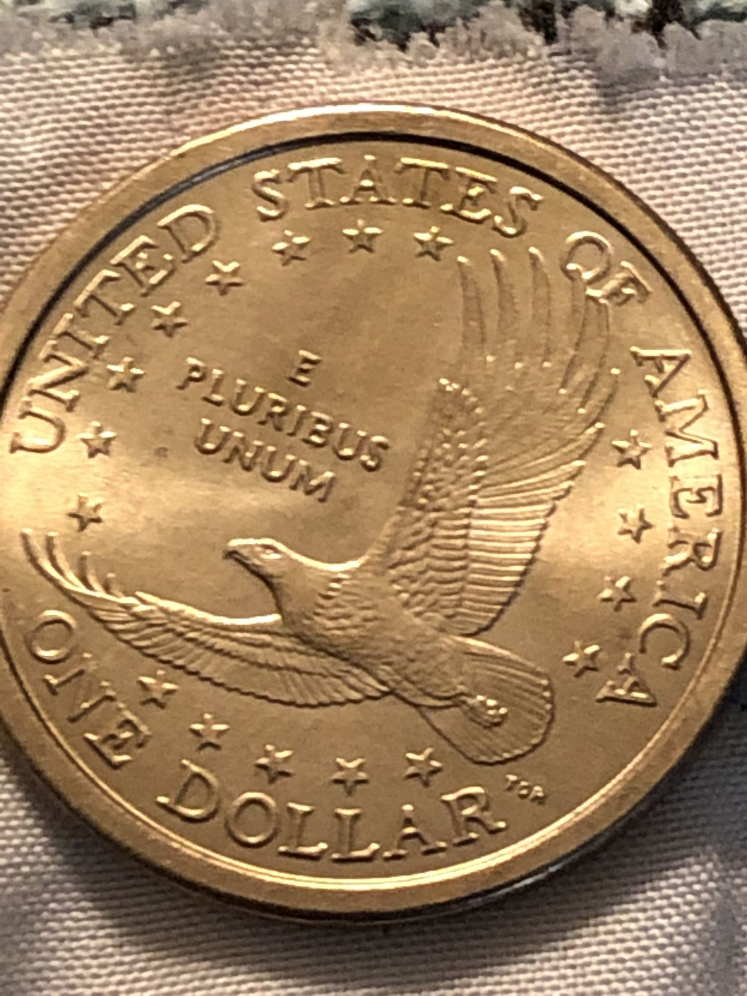 2000 p Sacagawea wounded eagle? - Newbie Coin Collecting Questions