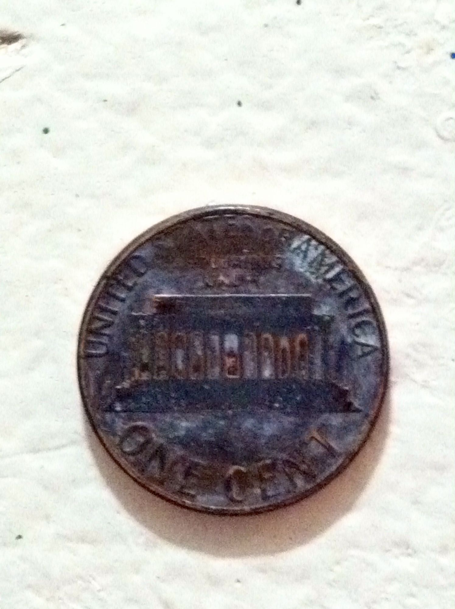 1983 d penny Planchet error? - Newbie Coin Collecting