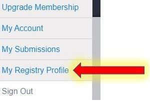 My Registry Profile.JPG