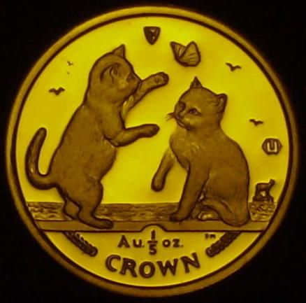 IoM Fifth Crown Cats 2003 0.2 oz Au Reverse.JPG