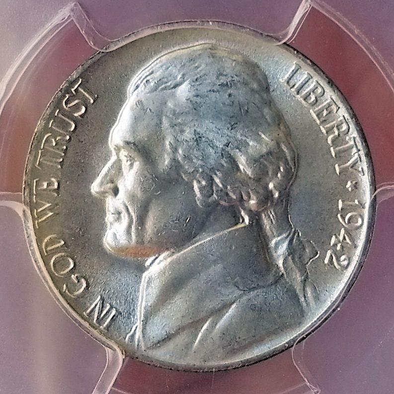 1942 P 5c MS67 FS Obverse CLOSE.jpg