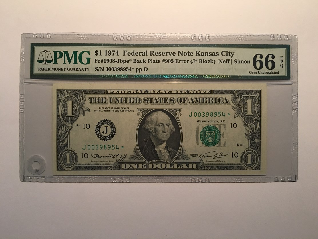ADDING - ONES in NOVEMBER 2015 - 2013 SMALL SIZE FEDERAL RESERVE NOTES